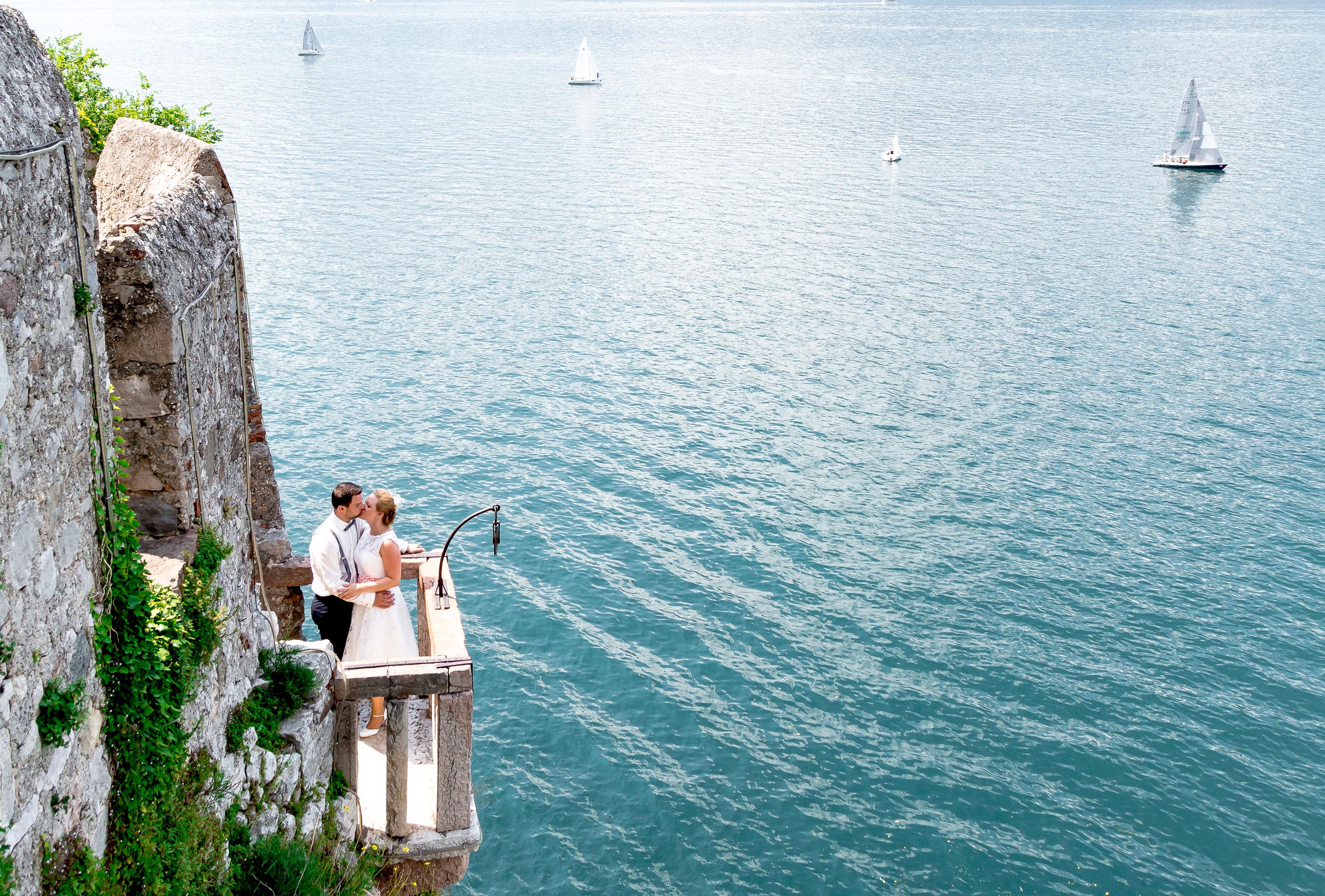 Hochzeit in Italien am Gardasee