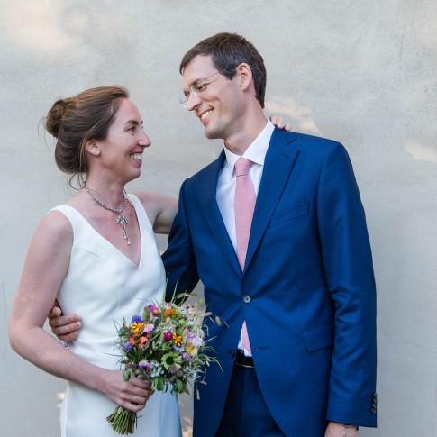 Hochzeit Basel Braut und Bräutigam